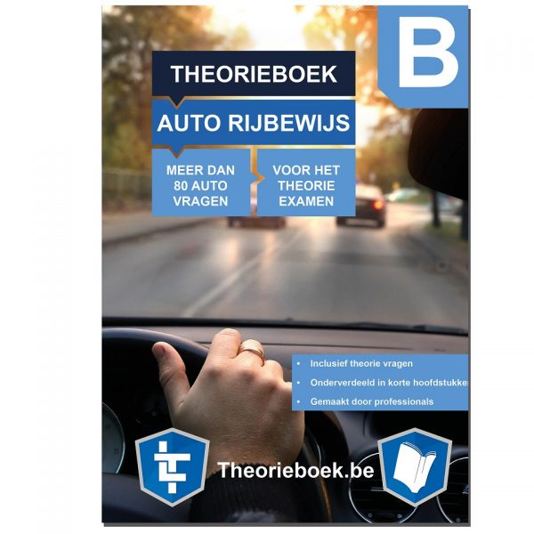 Auto Theorieboek BE Blue Kader - klein